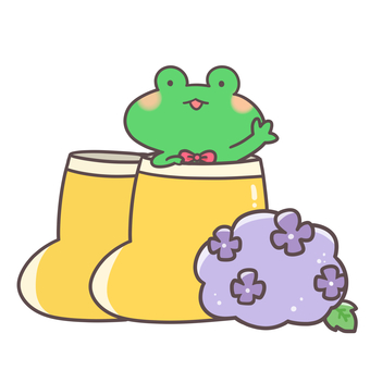 Frog and boots