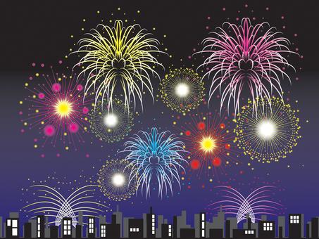 Fireworks _ Building
