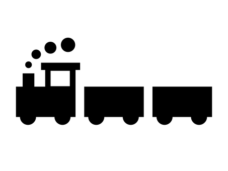 Silhouette _ train POP