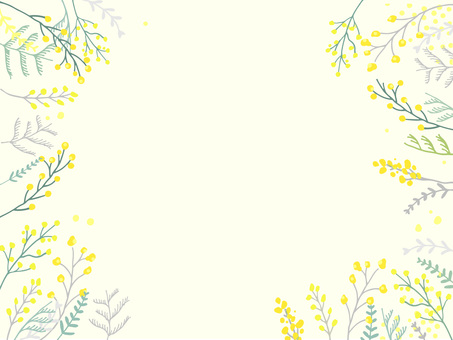 Mimosa background material