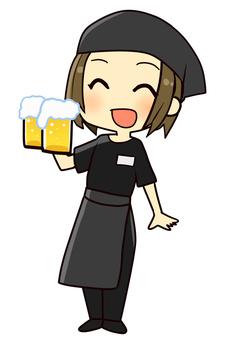 【Work】 Drink shop Izakaya