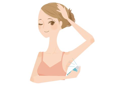 Women who sweat sweating care