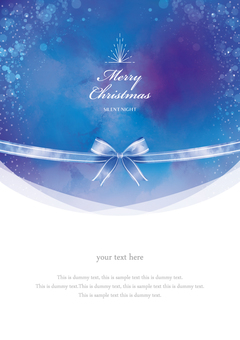 Winter background frame 033 Xmas watercolor