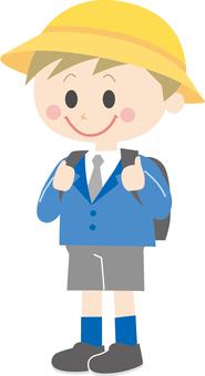 Elementary school boy 3