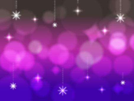 Frame night sky (sparkling)