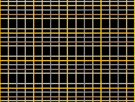 Plaid - gold and silver
