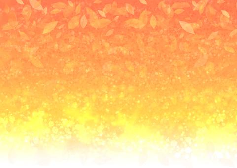 背景橙色秋