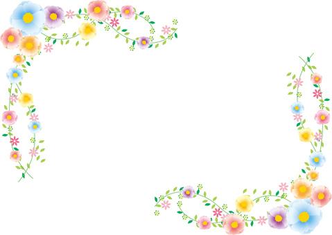 Flowers _ rascus frame
