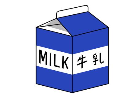 Paper pack beverage [milk]