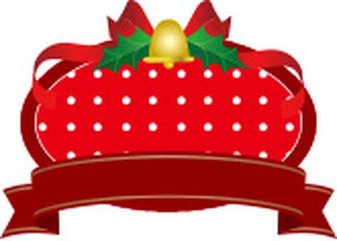Dot Christmas label