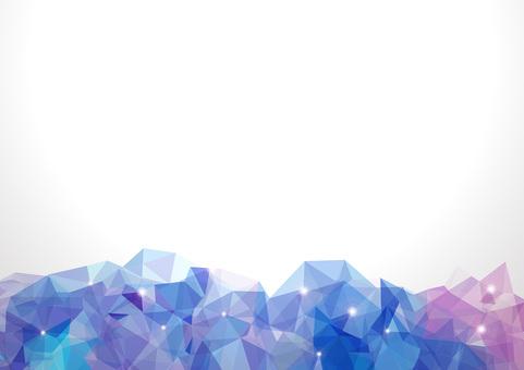 Polygon banner - Amethyst