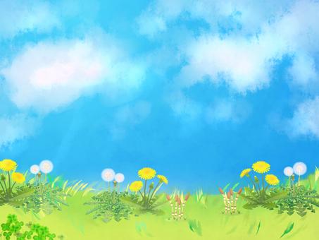봄의 경치