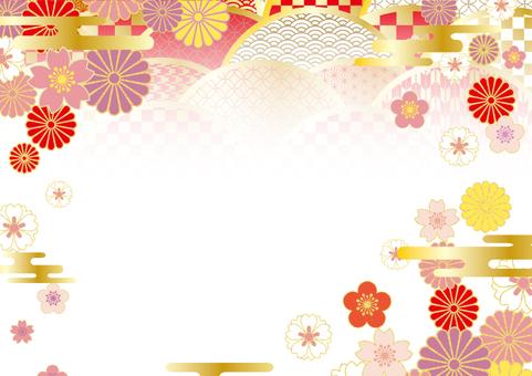 2019 Japan pattern Japanese pattern frame 11
