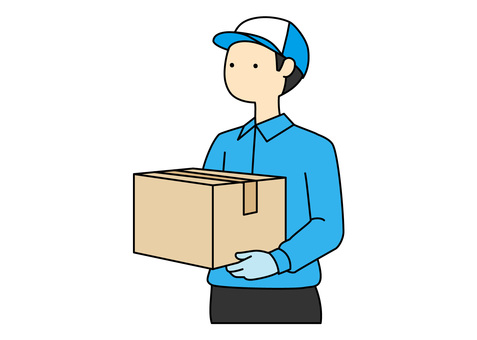 Simple-Delivery Worker (Color)