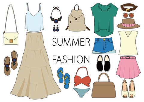 Summer fashion set