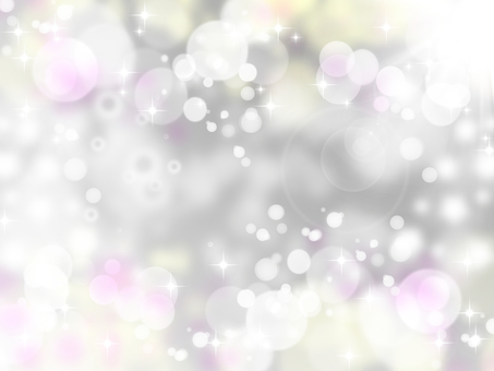 A glittery gray world