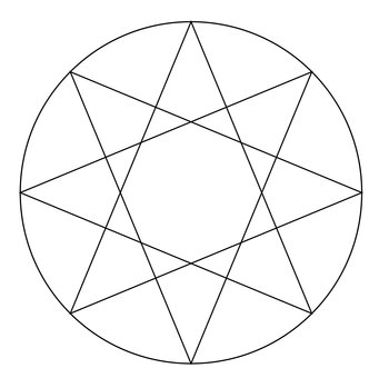 The octagonal star mark
