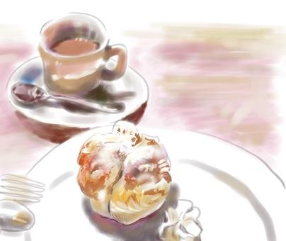 커피와 애플 파이