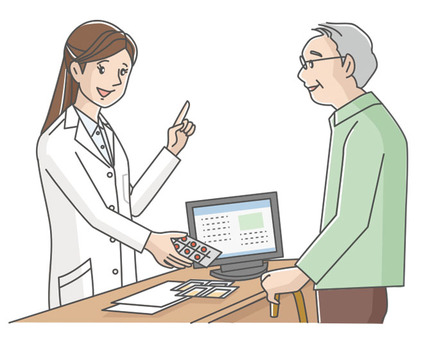 藥劑師和病人