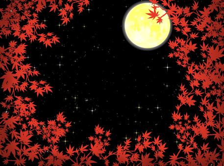 단풍 속에서 볼 달밤