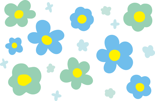 Flower pattern (an irregularity) 2