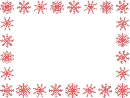 눈송이 (핑크 3) 프레임