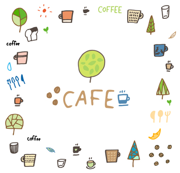 Cafe _ material set 03