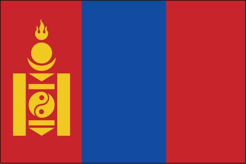 Mongolia flag (without name)