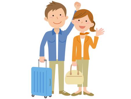 60311. Travel, a couple