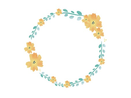 Decorative frame flower