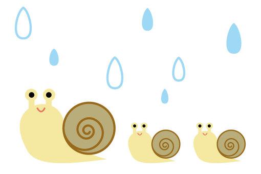 Snail Parents and Rain 2