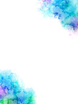 Watercolor frame ver 03