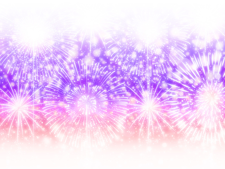 Multiple fireworks for summer background · Wallpaper frame 4