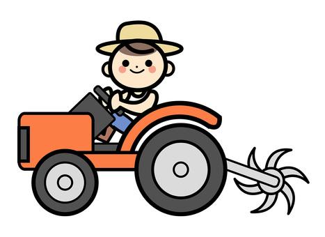 Simple farmer - cultivator