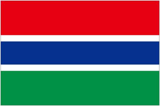 ガンビア 国旗