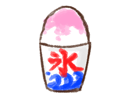Crayon series [Shaved ice 2 / strawberry]