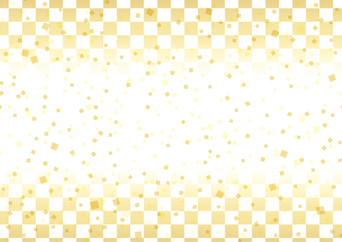Simple checker pattern _ Japanese style 02