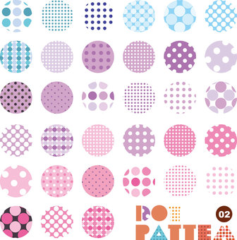 Pattern collection dot 02