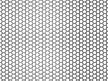 Punching panel wallpaper (45px round hole / silver)