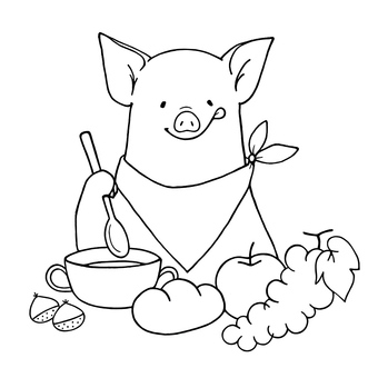 Pigs of nephew