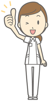 Female nurse - Goo - whole body