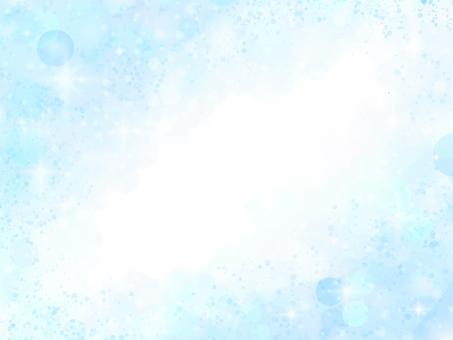 Glitter soap background frame (light blue)