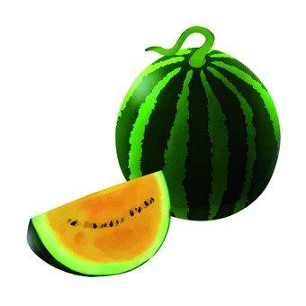 Watermelon, yellow