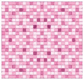 Mosaic tile pink