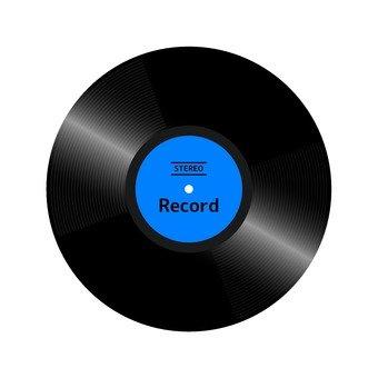 Record (blue)