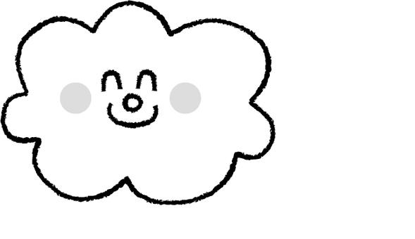 Clouds B & W