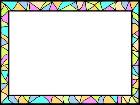 Stained glass windshield ①