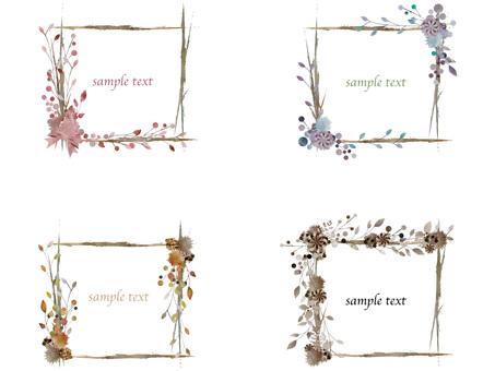 Autumn color frame set ver 56