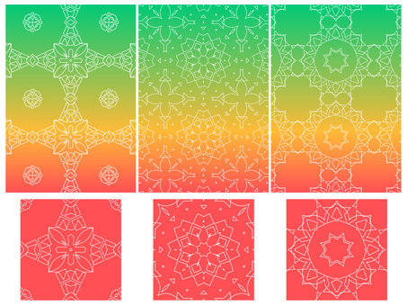 Line geometric pattern set 2