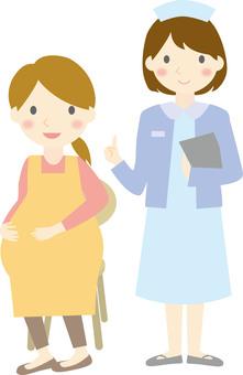 護士和孕婦